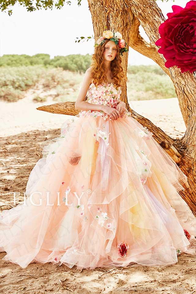 TIGLILY カラードレス