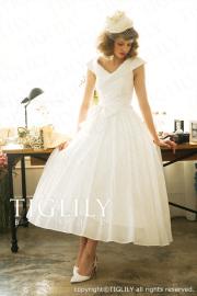 TIGLILY カラードレス Aライン wb004