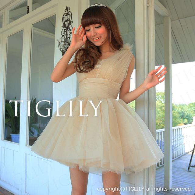 TIGLILY ミニドレス s083