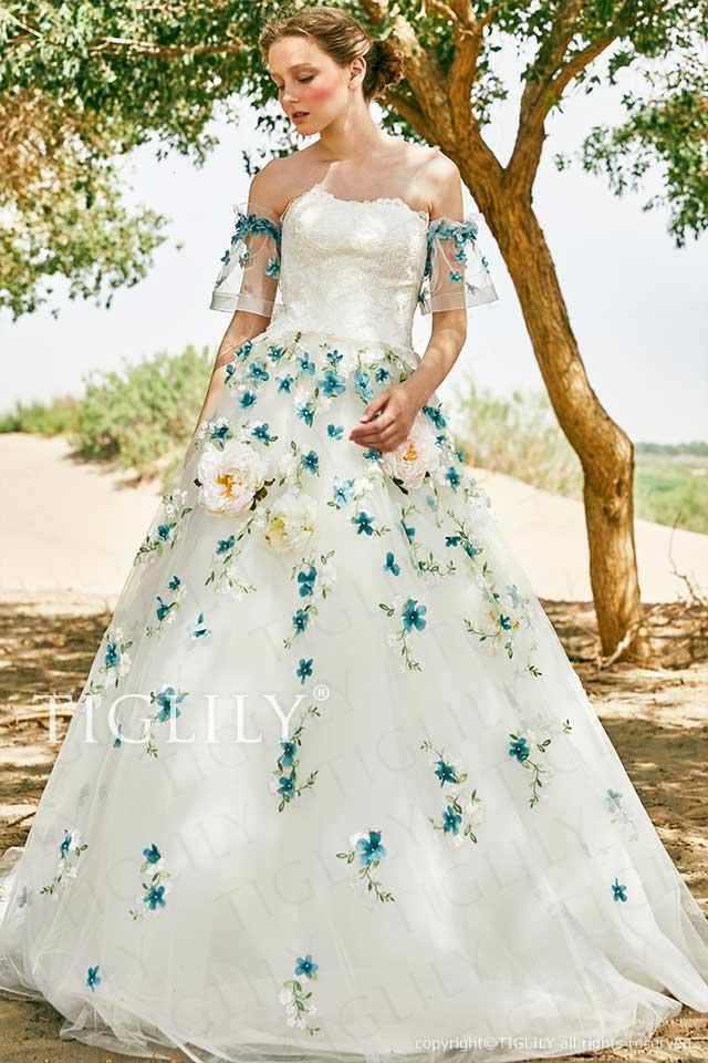 TIGLILY ホワイトドレス