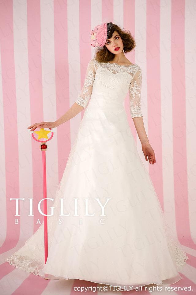 TIGLILY ホワイトドレス w918