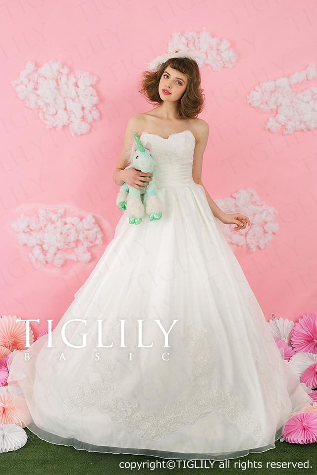 TIGLILY ホワイトドレス wb010