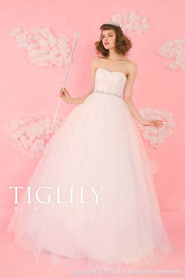 TIGLILY ホワイトドレス wb015
