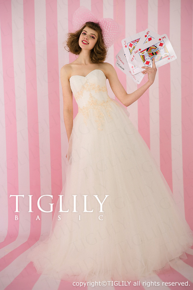 TIGLILY ホワイトドレス wb018